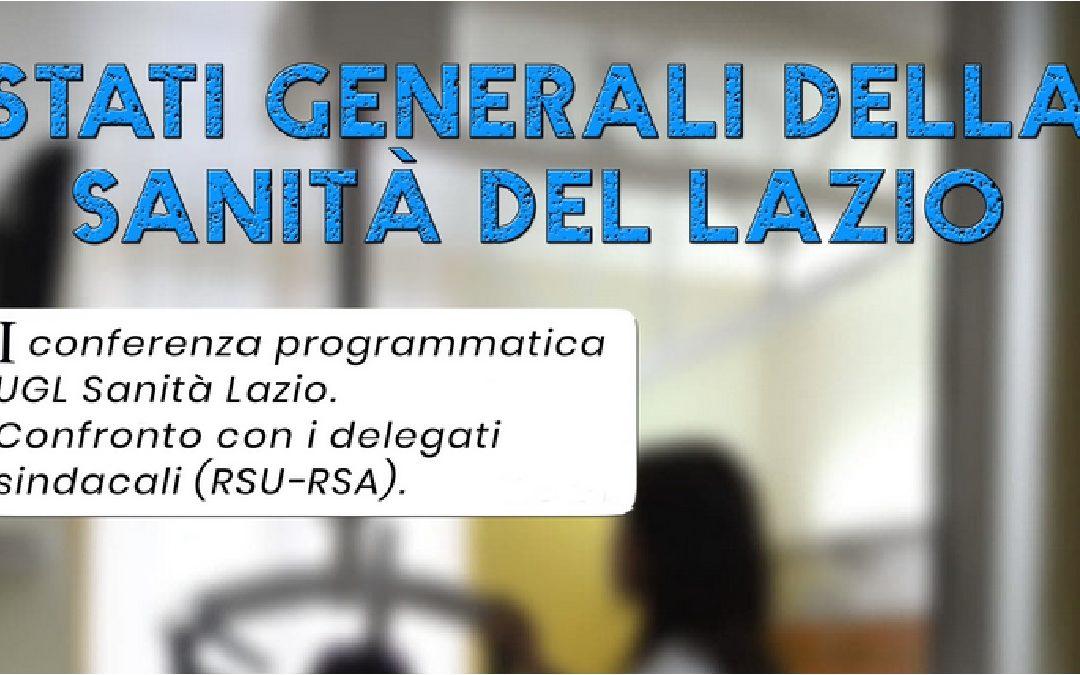 Stati Generali della Salute del Lazio